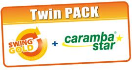 TWIN PACK Swing Gold Caramba Star
